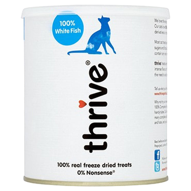 White Fish - Front - Petproject Thrive Cat Treats