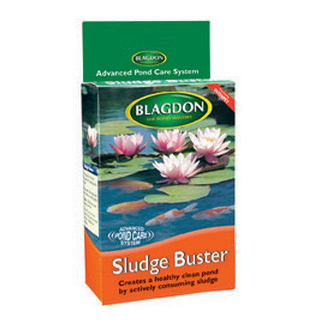 Natural - Front - Interpet Limited Blagdon Pond Treatment Sludge Buster (Pack Of 4)
