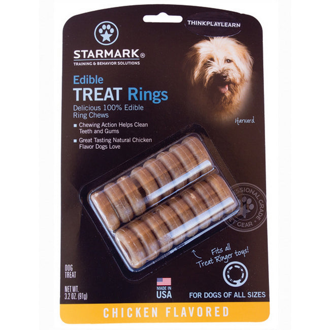 Chicken - Front - Starmark Treat Dispensing Edible Treat Rings