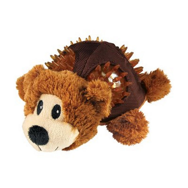 Bear - Front - KONG Shells Dog Chew Toy