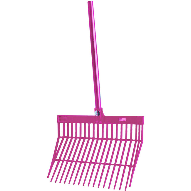 Aqua - Front - Roma Brights Revolutionary Stable Rake With Handle