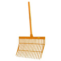 Orange - Front - Roma Brights Revolutionary Stable Rake With Handle