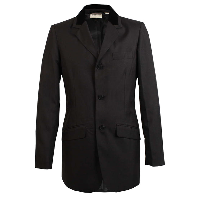 Black - Front - Dublin Mens Haseley Show Jacket