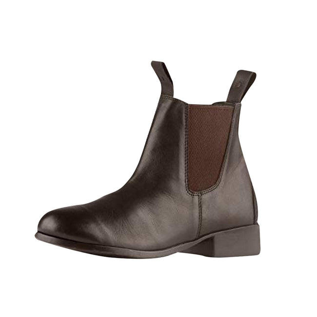 Brown - Front - Dublin Childrens-Kids Elevation Leather Jodhpur Boots II