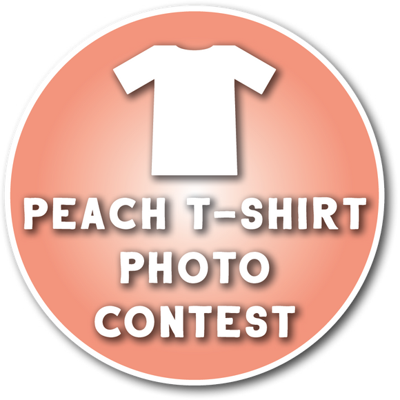 Peach T-Shirt Photo Contest (All Ages)