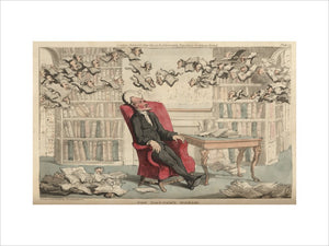The Doctor's Dream, from 'The Tour of Doctor Syntax in search of the Picturesque', London 1812