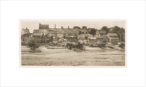 A Corner of Old Yarmouth, from 'Wild Life on a Tidal Water : the adventures of a house-boat and her crew,