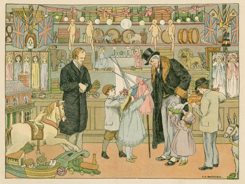 Toy Shop, from E. V. Lucas's 'The Book of Shops', London: Grant Richards, [1904]