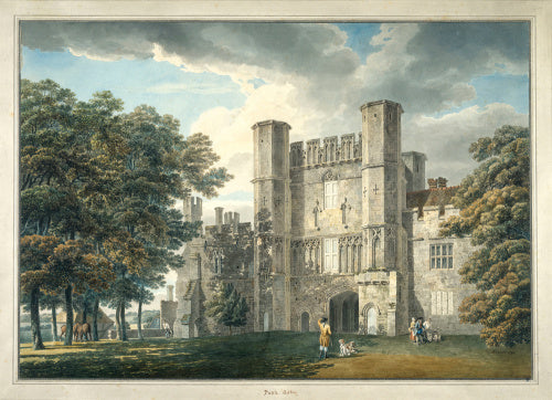 The Gatehouse of Battle Abbey, Sussex