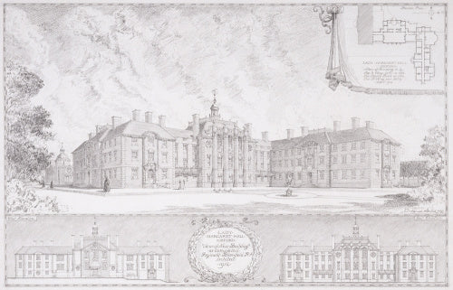 Record drawing for Lady Margaret Hall, Oxford
