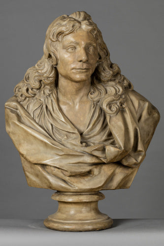 Cast of a bust of Sir Christopher Wren