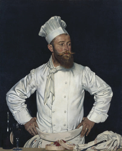 Le Chef de l'Hotel Chatham, Paris