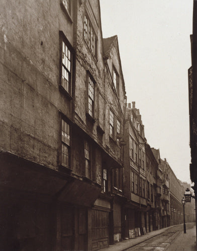 Old Houses in Wych Street