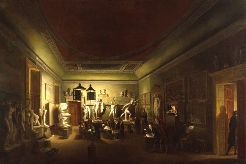 The Antique School of the Royal Academy