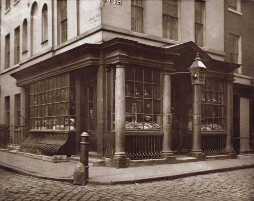 Shop in Brewer Street, Soho
