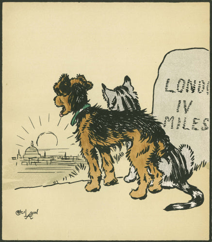 Within sight of London, from Cecil Aldin and May Byron's 'Jack & Jill', London: Hodder and Stoughton [1914]