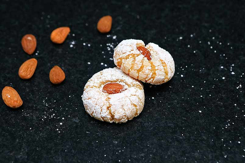 "MOROCCAN MACAROONS ""THE AUTHENTIC ORANGE BLOSSOM"""