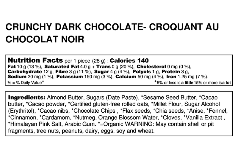 crunchy dark chocolate facts image