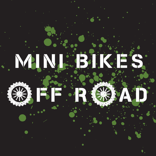 mini bikes off road logo mini dirt bike