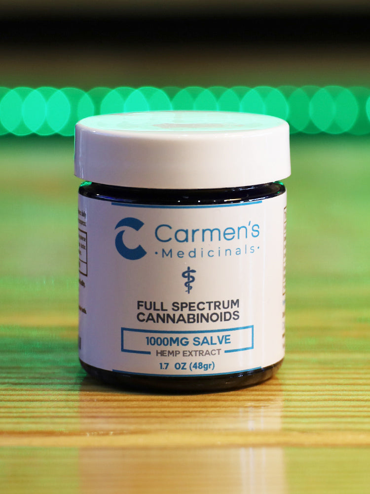 Carmen's Hemp Salve 1000MG Full Spectrum