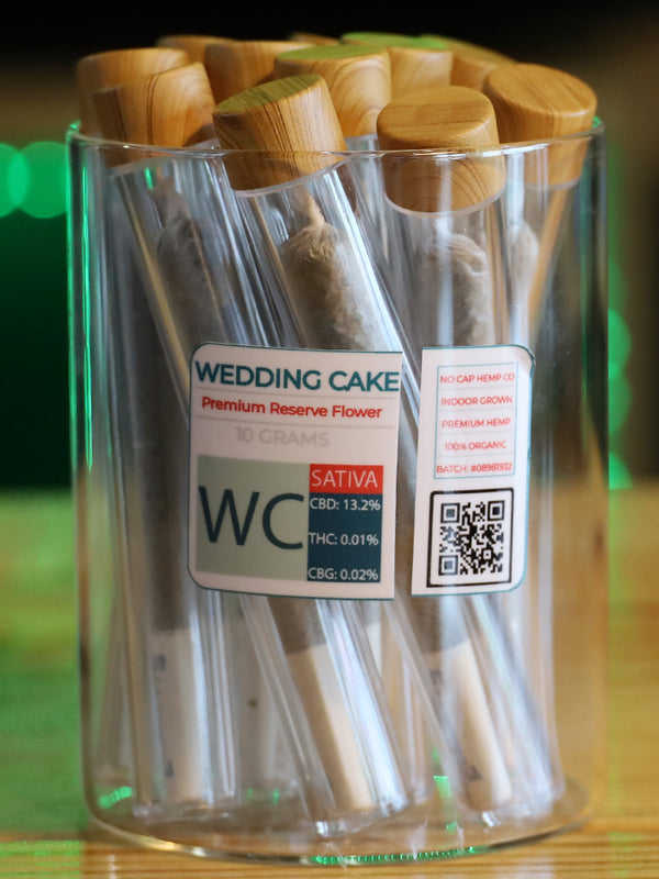 Wedding Cake Premium Reserve Flower Blunt