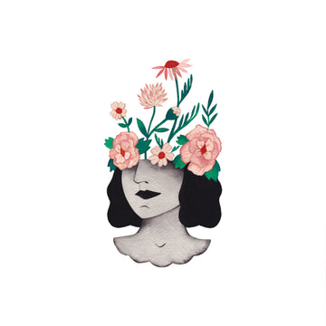 Flower Head - Tattly