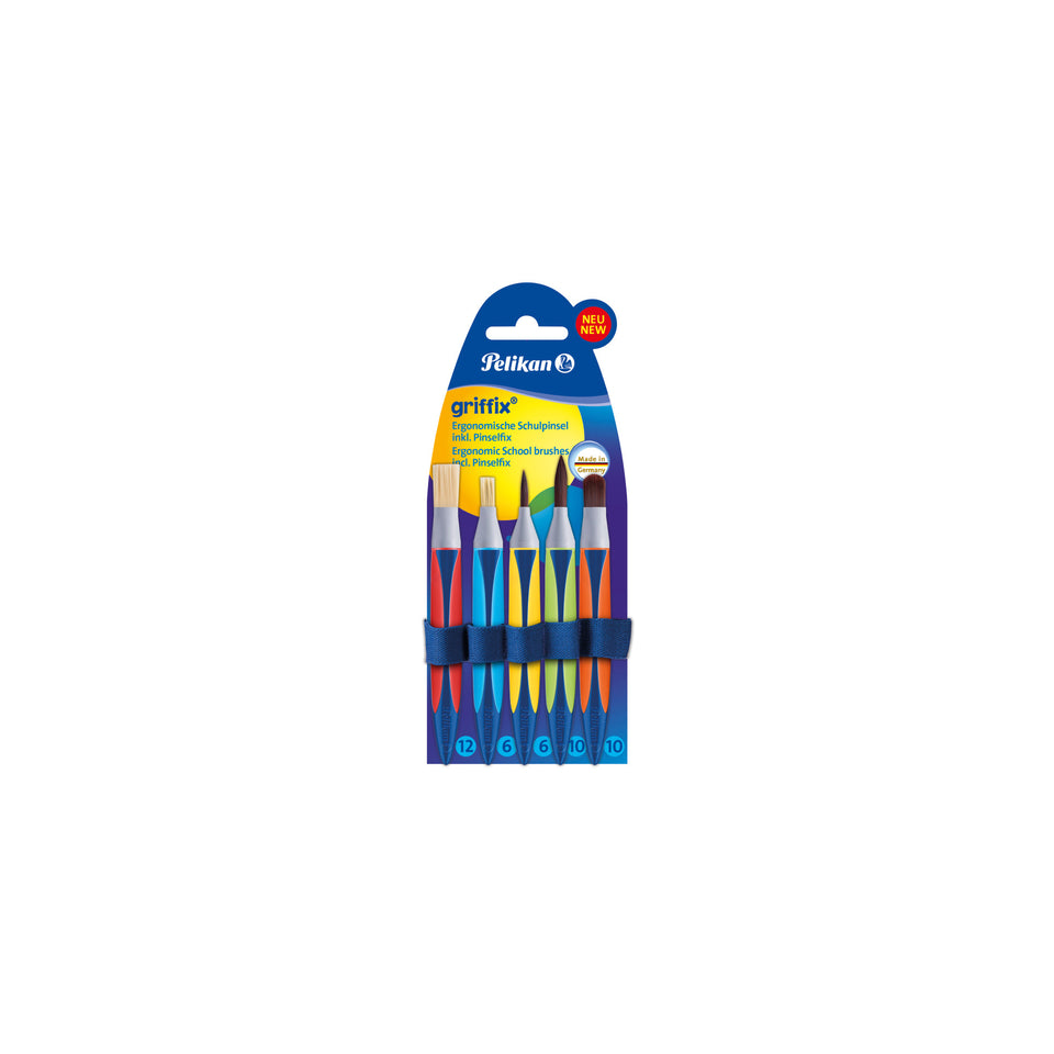 Griffix Brush Set with Ribbon Pack of 5