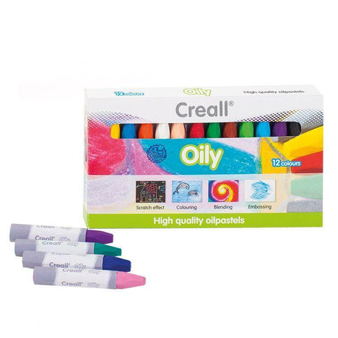 Oil Pastel Chalk Colour Set - Creall