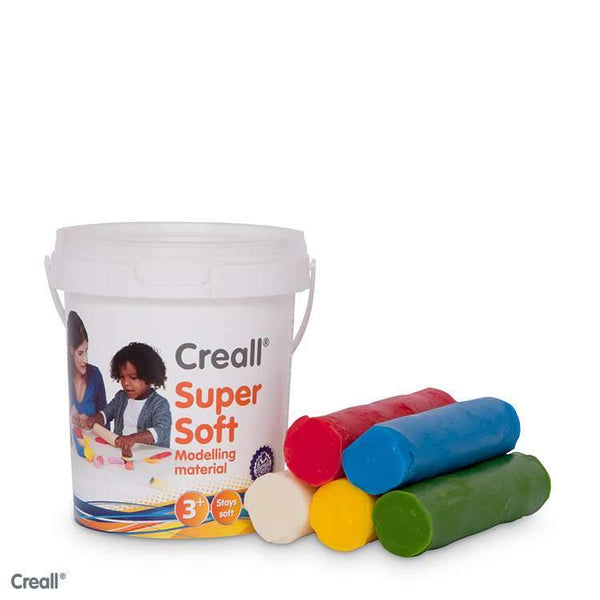 Super Soft High Quality Modelling Material 450g (Assorted Colours)