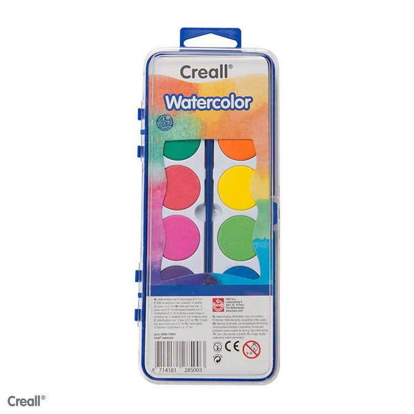 High Quality Water Colour Set with Paintbrush - Creall