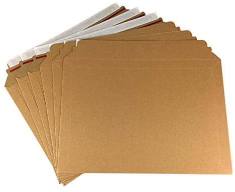 Certificate Envelopes with Cardboard (Pack of 50) - A4 - 230mm x 330mm