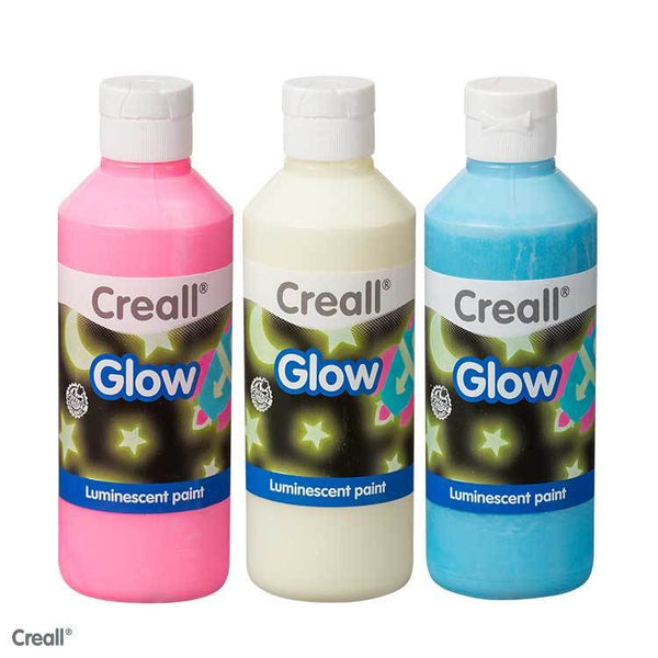 Luminescent (Glow In the Dark) Paint - 250ml - Creall