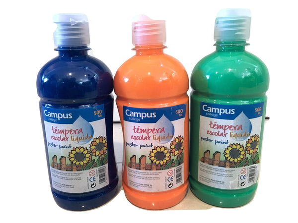 SPECIAL OFFER - 500g Bottle Poster Paint Trio