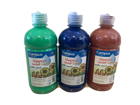 SPECIAL OFFER - 500g Bottle Poster Paint Trio 4