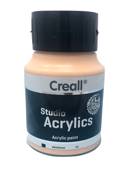 Acrylic Paint - 500ml (Big) - Professional - Skin Tone (Creall)