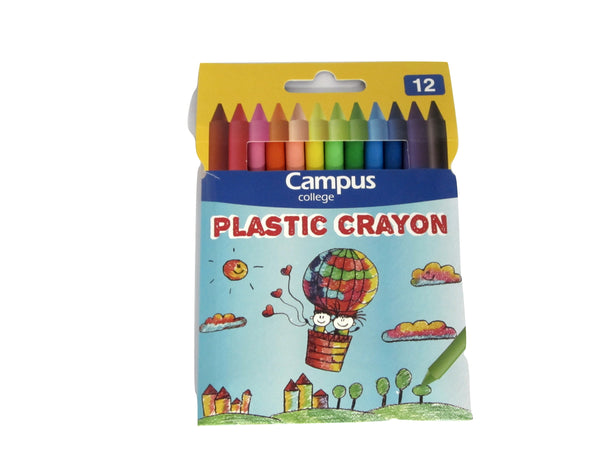 Coloured Crayons (Set of 12) (Campus)