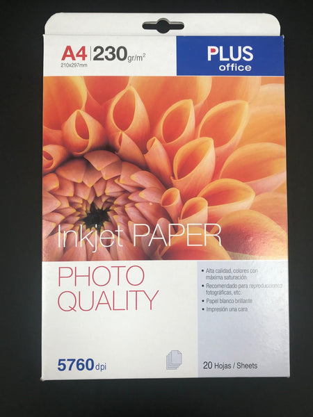 Photo Quality Inkjet Paper A4 230gsm