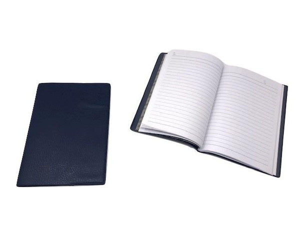 Notebook 80 sheet Hard Plastic Leather Texture Cover