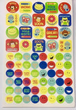 Reward Stickers for Students / Children (Over 650 Stickers ! )