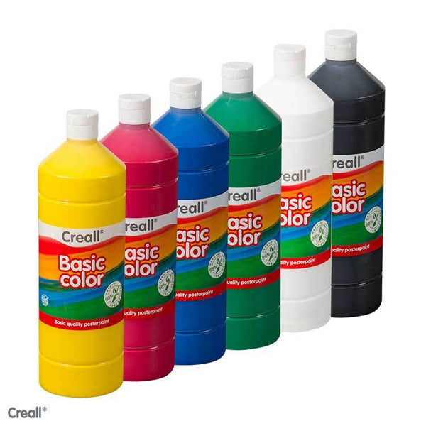 1L Poster Paints (Various Colours) (Creall)