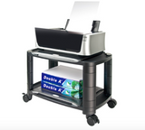 Machine Cart / Monitor or Printer Stand with storage shelves.