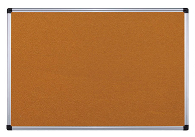 Cork Board with Aluminium Frame (Various Sizes)