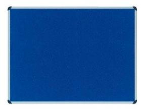 Felt Board (Blue or Green) (Various Sizes)