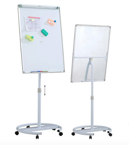 Flip Chart Stand with Wheels - 90 x 60 cms
