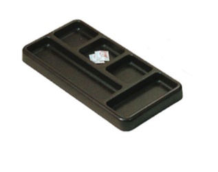 Desk Organiser Tray - Brown
