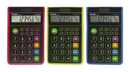 Calculator - 8 Digits (x3 Colours) - 96 x 153mm - (Plus Office SS-275)