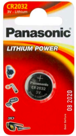Batteries - 3V Lithium - Panasonic CR2032