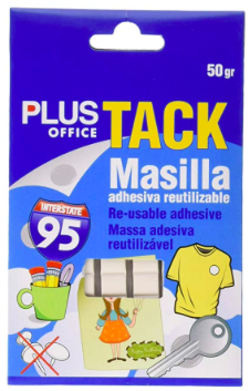 "Adhesive Putty Reusable / ""Blu-Tack"" (Plus Office)"