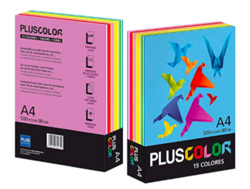 Paper A4 - Assorted 15 Colours - 80 gsm (Pack of 500 sheets)