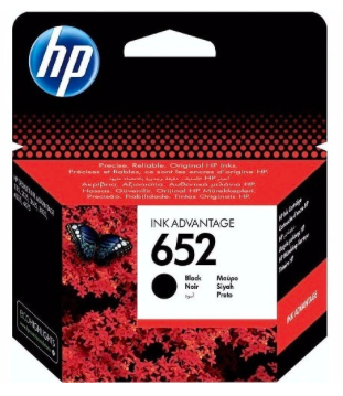 HP 652 Black - Ink Cartridge